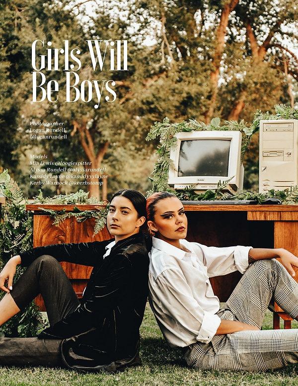 """Girls Will Be Boys"""