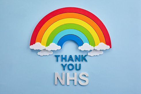 Thank you nhs rainbow banner. Rainbow ob