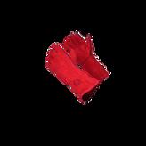 Guante Descarné Soldador Rojo