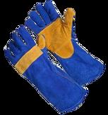 Guante Soldador Costura Kevlar Azul