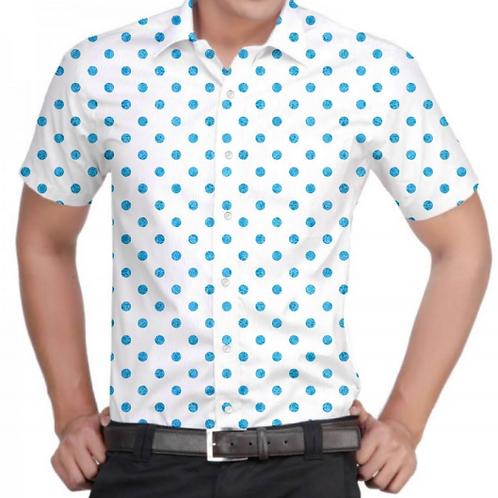 Polka Face Regular-Fit Shirt
