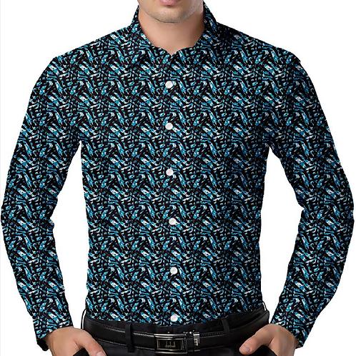 Blue Jungle Regular-Fit Shirt