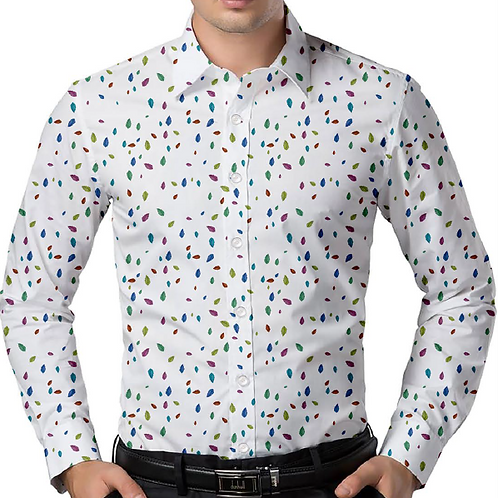 Summer Confetti Regular-Fit Shirt