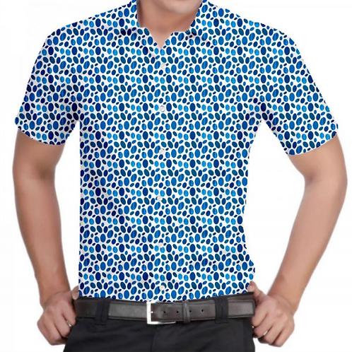 Blue Fever Slim-Fit Shirt