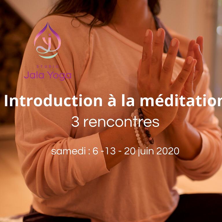 Apprendre à méditer | 3 rencontres