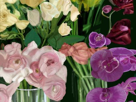 Art Blog #35 - Digital Artwork and Time-Lapse Videos