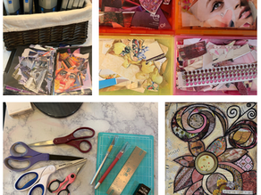 Beginning Collage Making Classes