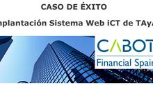 Caso de éxito CABOT - iCT Conciliación Facturas