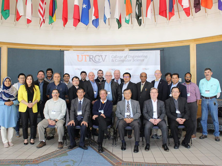 Dr. James Kong attended the ONR MEEP kick-off meeting at UT-RGV on Nov. 15 and 16, 2019.