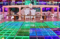 Pista de baile luces LED