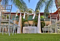 Montaje boda al civil