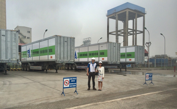One of Biggest CNG Daughter Station in Vietnam