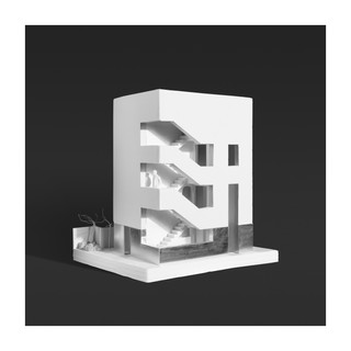 상도동 근린생활시설 건축모형_STPMJ