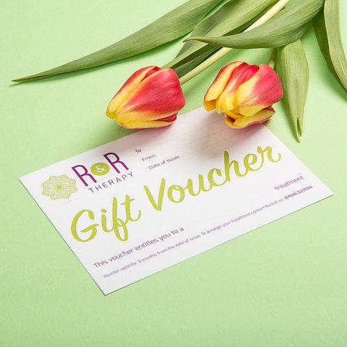 R&R Gift Voucher (£15 - £40)