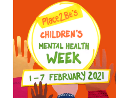It's Children's Mental Health Week (1-7 February 2021)