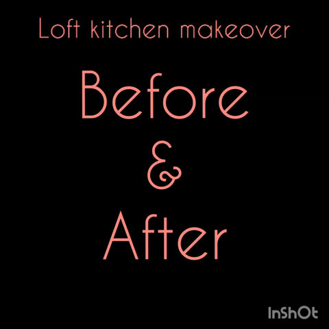 BEFORE AND AFTER- LOFT MAKEOVER