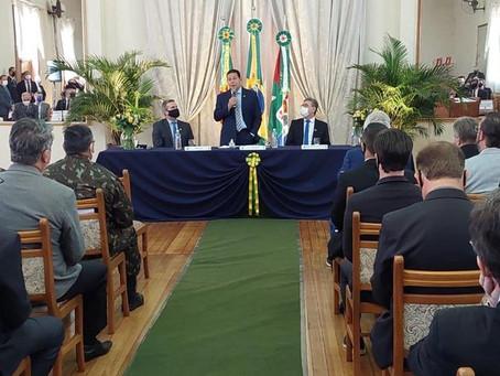 Mourão participa de inauguração e homenagens em Ijuí e Cruz Alta