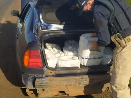 Homem é preso transportando veneno de origem estrangeira em Panambi