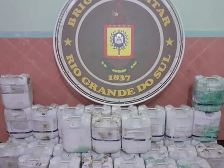 Brigada Militar prende homem por contrabando de agrotóxicos em Três Passos