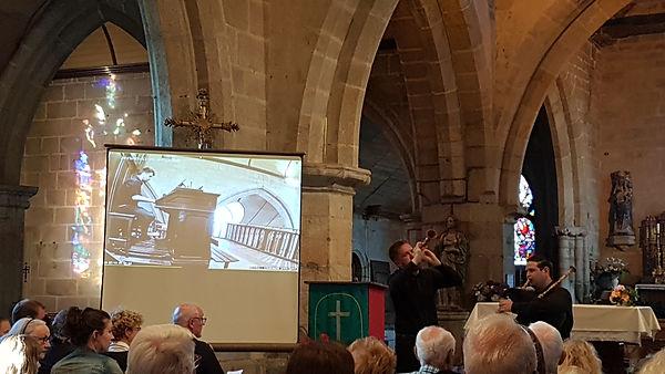 Le choeur & les orgues