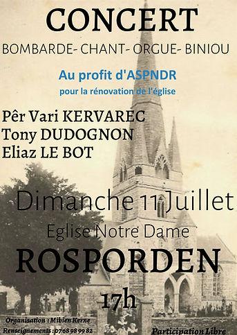 Concert Bombarde-Chant-Orgue-Biniou-Saxophone