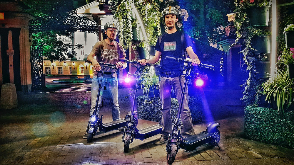 Фото наших клиентов - TopScooters.ru