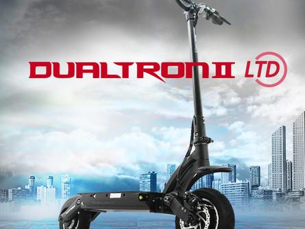 Dualtron II, Dualtron 2 LTD, Dualtron 2 EX и Dualtron 2 EX Plus - уже в продаже!
