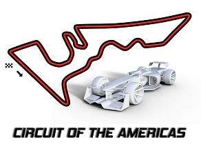 Race track wall art The Americas