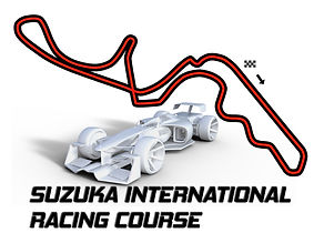 suzuka race track wall art
