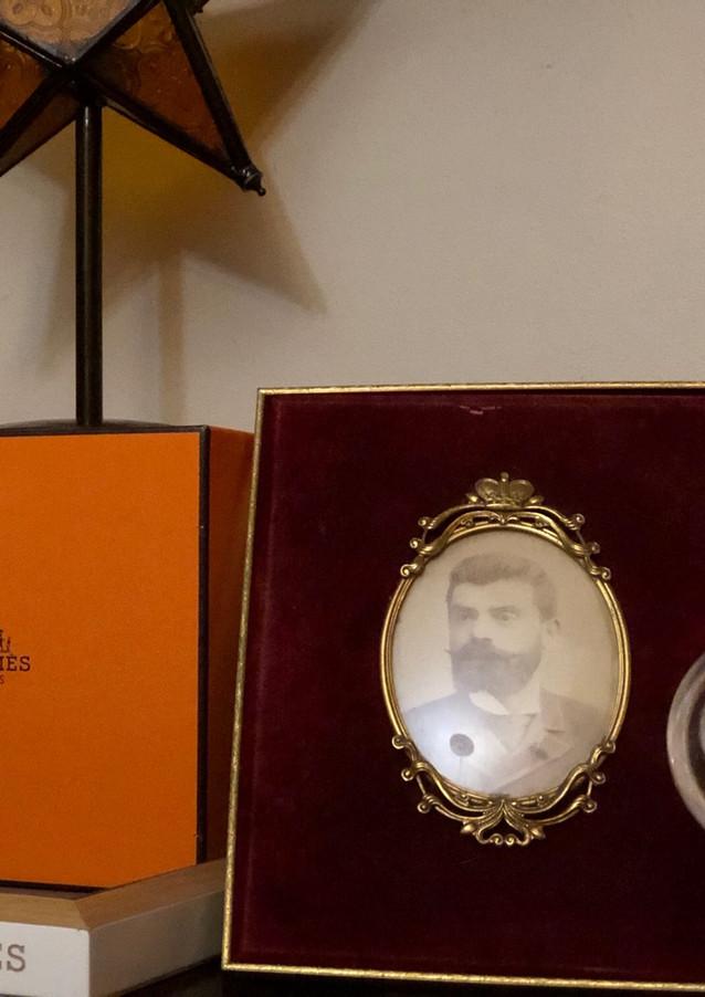 Hermes Box & Tray, Stained Glass Stars & Uncle Velvet