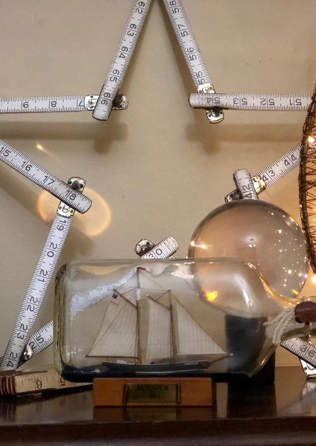 Stars, lights and crystal balls