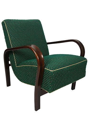 Art Deco Kozelka & Kropacek Czech Armchair