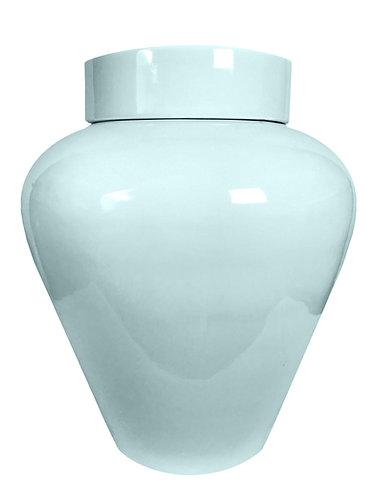 Details about  Chelsea House Robins Egg Blue Lumberton Vase Ginger Jar