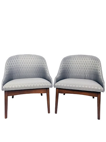 Pair of Kodawood Bentwood Lounge Chairs by S.J. Weiner