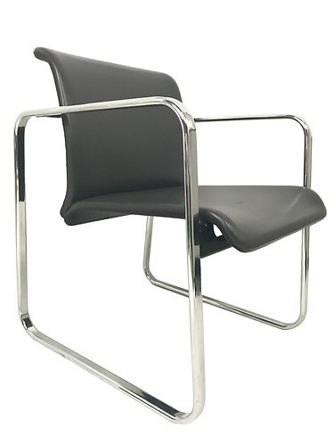 Peter Protzman Chrome Frame Chair for Herman Miller