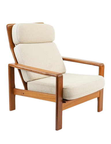 S. Burchardt-Nielsen Teak Lounge Chair