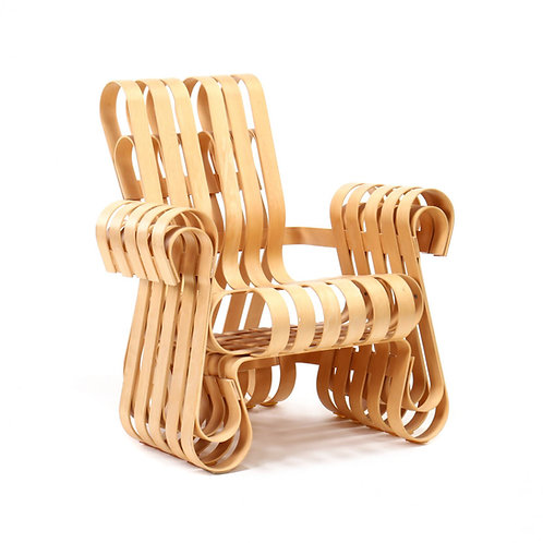1990s Frank Gehry Power Play Chair for Knoll International