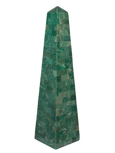 Maitland-Smith Malachite Obelisk