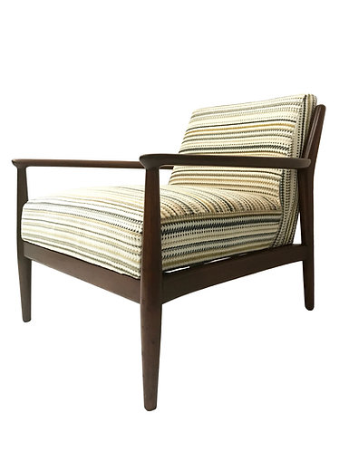 Mid Century Danish Style Lounge Chair for W & J Sloane