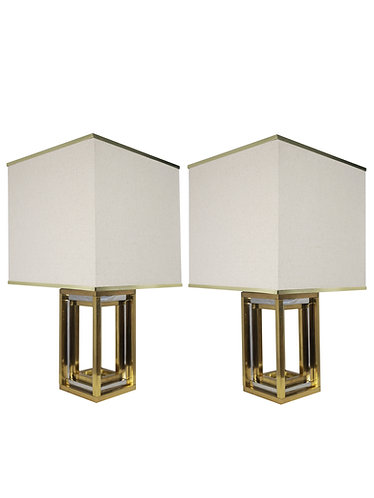 Pair of Modern History Rothko Table Lamps