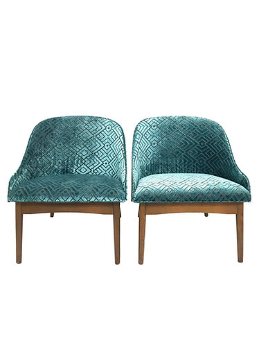 Kodawood Bentwood Lounge Chairs by S.J. Weiner
