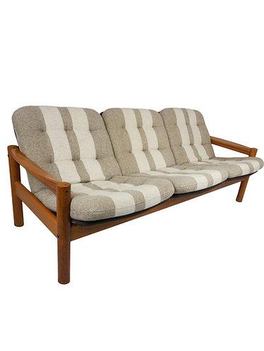 Mid Centruy Domino Mobler Teak Danish Sofa