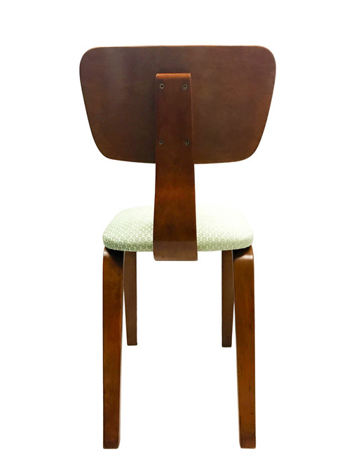 Beautifully Finished Pair Of Mid Century Bent Maple Plywood Chairs By Joe  Atkinson For Thonet Of New York. The Two Bent Chairs Feature Classic Angled  Frames ...