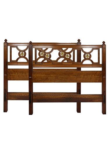 Pair of Kindel Furniture Regency Twin Headboards