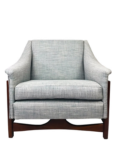 Mid Century Rocker Lounge Chair by Paoli