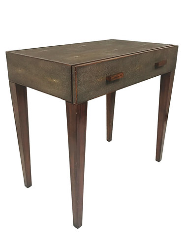 Modern History Shagreen Bedside Table