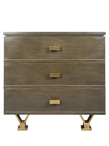 Modern History Linear 3 Drawer Chest