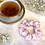 Thumbnail: Flora Deluxe Mulberry Silk Scrunchie