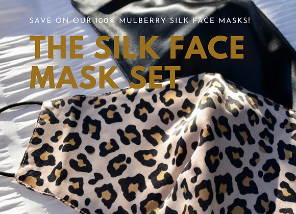 The Silk Face Mask Set