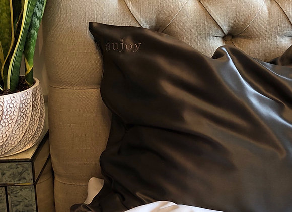 Charcoal Mulberry Silk Pillowcase